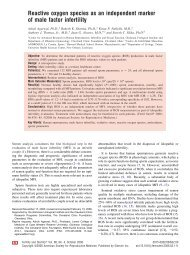 Reactive oxygen species as an independent ... - Cleveland Clinic