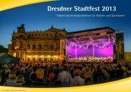 Zielgruppen - Dresdner Stadtfest 2012