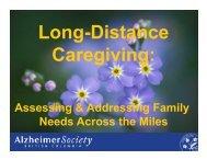 Long-Distance Caregiving ASC Webinar Slides.pdf - Canadian ...