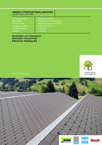 EPD-FCH-2013211-D - Eternit