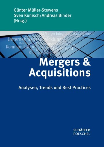 Mergers & Acquisitions - Grosse-Hornke Private Consult