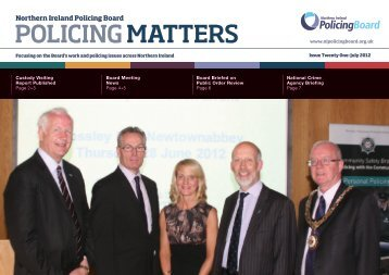 policing matters july - Police Service of Northern Ireland