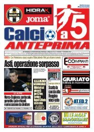 calcio a 5 37/12 NAZ - Calcio a 5 Anteprima