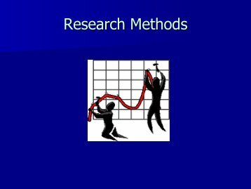 Research Methods - Sarkisian.net