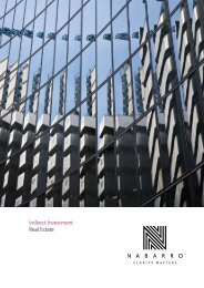 Indirect Investment Real Estate - Nabarro