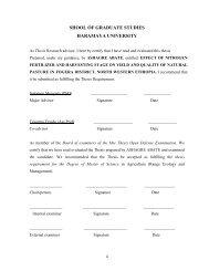 shool of graduate studies - IPMS Information Resources Portal
