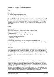 """Spielregel """"Zoff am Herd"""" → englische Übersetzung Page 1 Kitchen ..."""