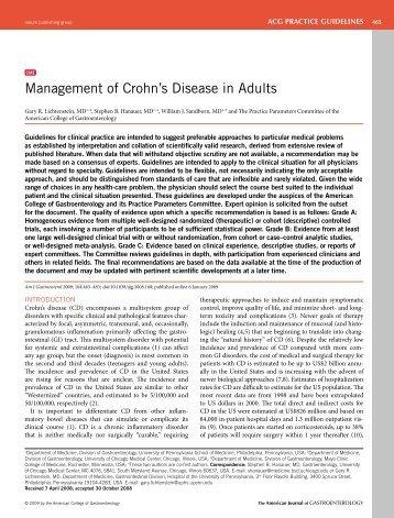 2009 ACG Guideline Management of Crohn's Disease.pdf