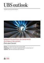 Industrie des machines, des équipements électriques et des métaux ...