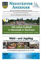 Neustädter Anzeiger Neustädter Anzeiger - Neustadt in Sachsen