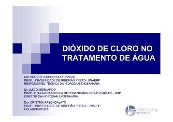 Dióxido de cloro no tratamento da água - Sabesp