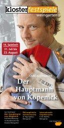 Der Hauptmann von Köpenick - Radio Seefunk