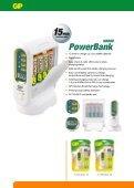 PowerBank + Rechargeable Batteries - Gold Peak Industries - Page 4