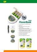 PowerBank + Rechargeable Batteries - Gold Peak Industries - Page 6