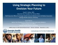 Using Strategic Planning to Envision Your Future