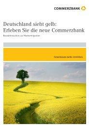 Deutschland sieht gelb: Erleben Sie die neue Commerzbank