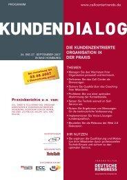 kundendialog - Bucher + Suter
