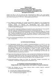 Satzung über Aufwandsentschädigungen ... - Samtgemeinde Rosche