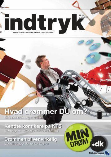 Hvad drømmer DU om? - Københavns Tekniske Skole