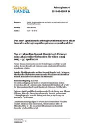 nya tjänstemannaavtal 1 maj 2013 - 30 april 2016.pdf - Svensk Handel
