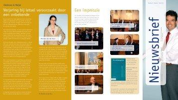 De nieuwsbrief van april 2011 - Ekelmans en Meijer Advocaten