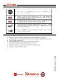 Manual da balança para cozinha UC 2 - Urano - Page 4