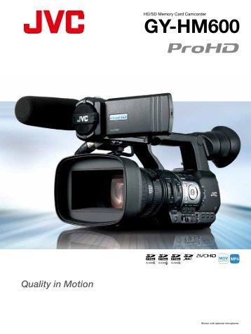 GY-HM600 - JVC