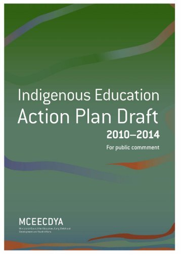 australian directions in - Ministerial Council for Education, Early ...