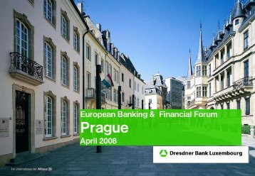 1 Dresdner Bank Luxembourg Group - ebff.cz