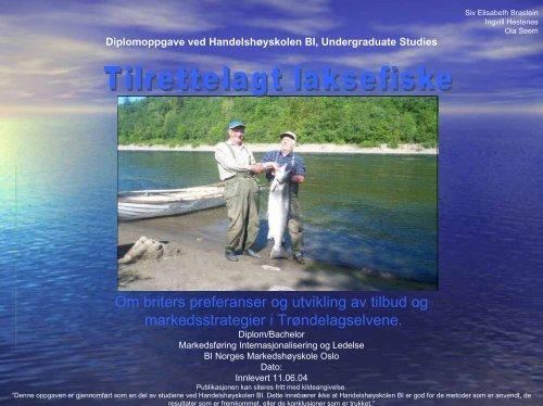 foredraget (PDF 0,5 MB) - Norske Lakseelver