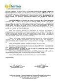 Carta do IPD-Farma enviada em setembro à SCTIE sobre a ... - Page 2