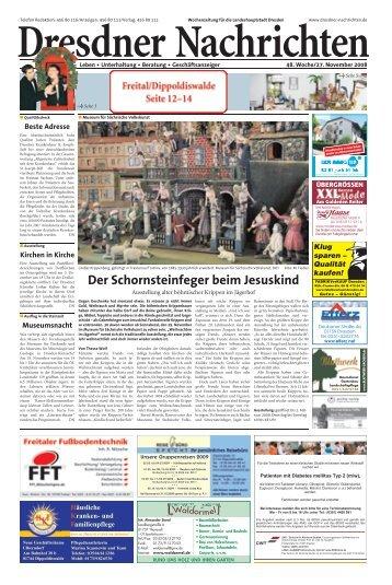 Der Schornsteinfeger beim Jesuskind - Dresdner Akzente