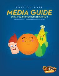 2013 OC Fair Media Guide - Orange County Fair