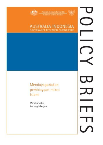 AUSTRALIA INDONESIA - SMERU Research Institute