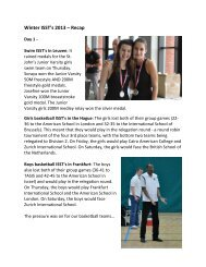 Winter ISST's 2013 – Recap - St. John's International School