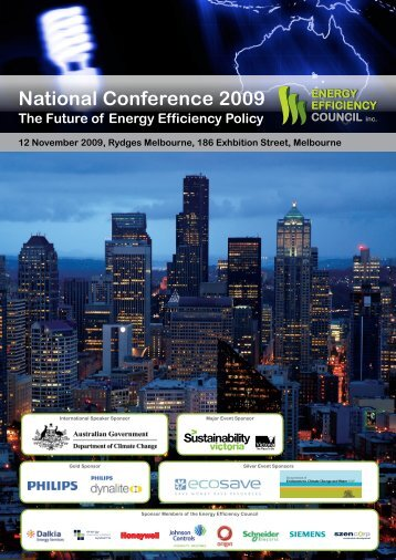 Download program - Energy Efficiency Council