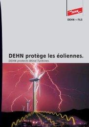 DEHN protège les éoliennes.