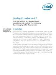 Leading Virtualization 2.0 - Dell PartnerDirect