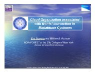 Cloud Organization associated with frontal convection in ... - cmmap