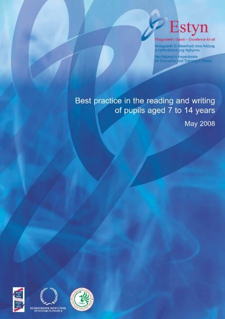 Best practice in the reading and writing of pupils aged 7 to 14 ... - Estyn