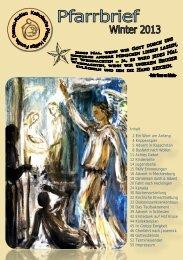 der aktuelle Pfarrbrief.pdf - Katholische Pfarrei Heilige Familie