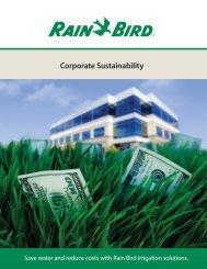 Brochure from Rain Bird Corp. - NFMT