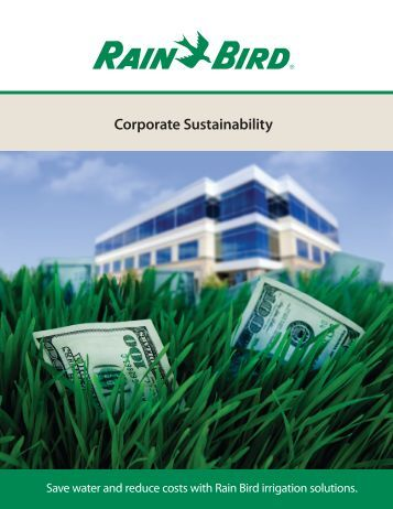 Brochure from Rain Bird Corp. - NFMT