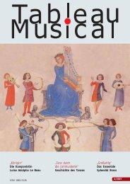 Tableau Musical 4 Herbst/Winter 2007 - Merseburger Verlag