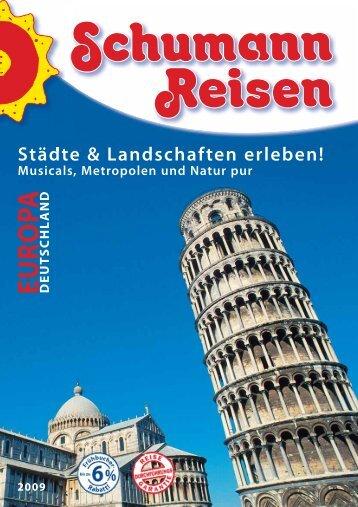 EUROPA DEUT - bei Schumann Reisen