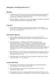 Die Literaturliste des Wintersemesters 2012/2013 als PDF