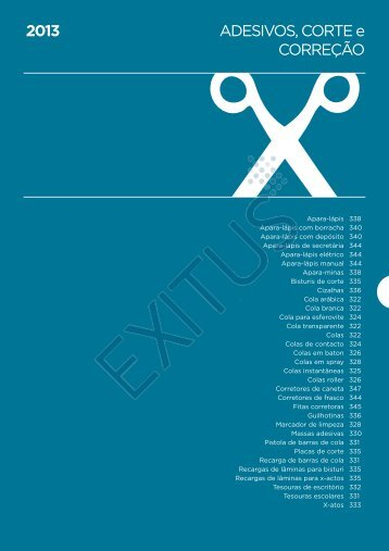 Adesivos de Corte Correção - Exitus
