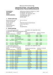 Sächsische Kinder - 1. DSG: Home