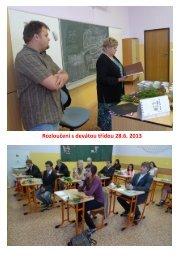 Rozloučení s devátou třídou 28.6. 2013
