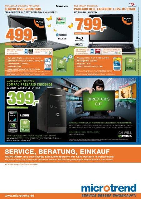 Intel® Pentium® t4400 (2 x 2,2 GHz) - NetMaster Service Systems